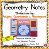 Interactive Geometry Notes: Polygons, Quadrilaterals and P