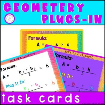 Geometry Plug-In Task Cards