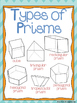 Geometry Posters:  3D Shapes, 2D Shapes, & Classification