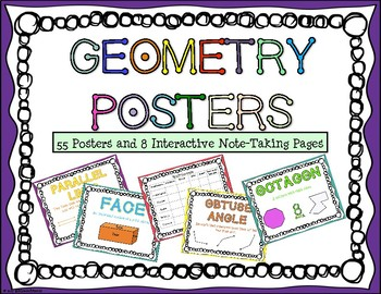 Geometry Posters and Interactive Note-Taking Pages