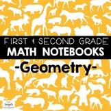 Math Journals: Geometry Printables 1-2