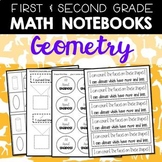Math Journals: Geometry Printables 1-2