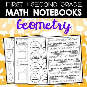 Math Journals: First and Second Gr Geometry