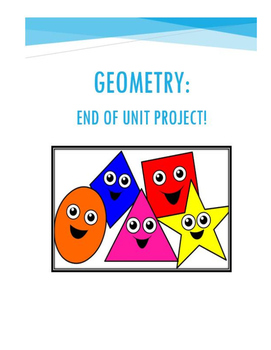 Geometry Project with rubric