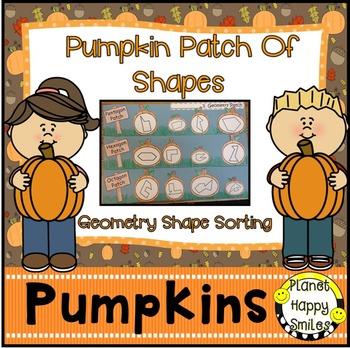 Pumpkin Activity ~ Geometry Pumpkin Patch