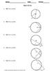 Geometry Quiz: Circles