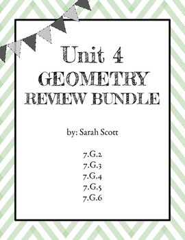 Geometry Review Bundle