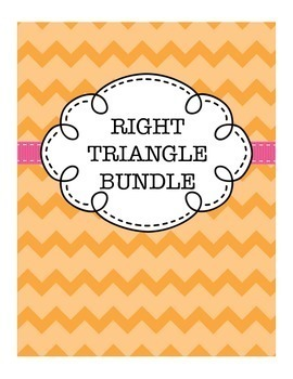 Geometry Right Triangle Bundle (includes Pythagorean Theor