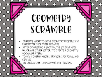 Geometry Scramble