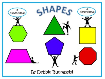 Geometry Shapes:  2D and 3D