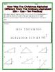 Right Triangles - Sine-Cosine-Tangent Christmas Riddle Pra