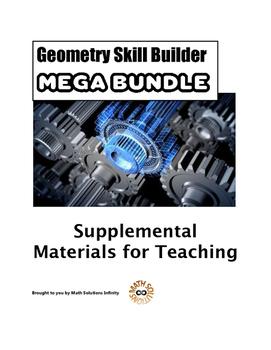 Geometry Skill Builder MEGA BUNDLE