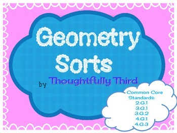 Geometry Sorts by Thoughtfully Third