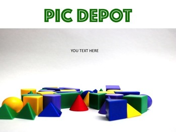 Geometry Stock Photo Colorful Shapes