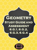 Geometry Study Guide and Assessment {6.G.1, 6.G.2, 6.G.3,