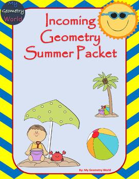 Geometry Summer Packet