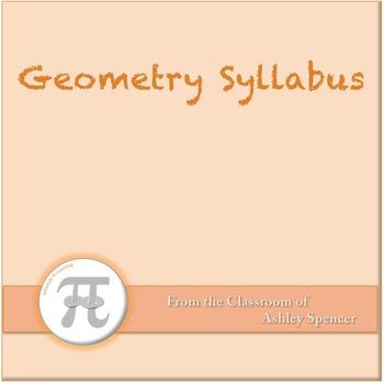 Geometry Syllabus