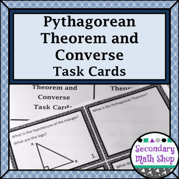 Right Triangles - The Pythagorean Theorem and Its Converse