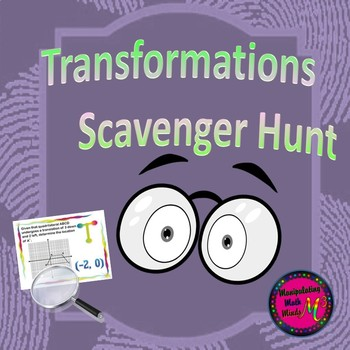 Transformation Scavenger Hunt Activity - Great unit or STA