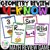 Geometry Game for Math Centers & Stations {2D & 3D Shapes,