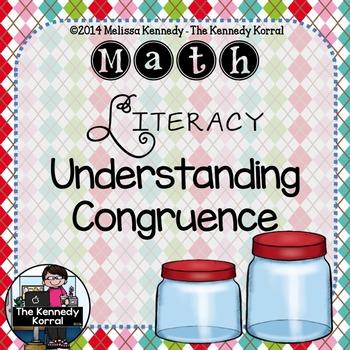 Math Literacy: Understanding Congruence {Anchor Charts, Ma