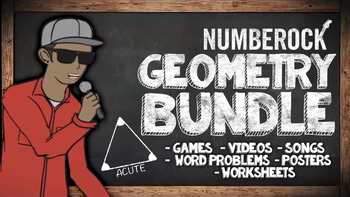 Geometry Unit: With Geometry Games, Songs, Videos, Workshe