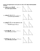 Geometry Unit 8 Congruent Triangles SSS SAS ASA AAS HL Worksheet