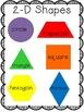 Geometry Unit (Common Core Aligned 2D, 3D, and pattern blo