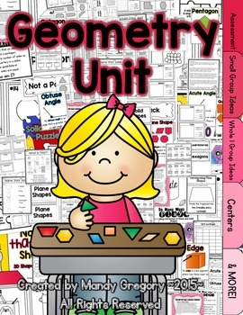 Geometry Unit- Everything You Need and MORE!