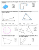 Geometry Unit Exam 7th Grade Math