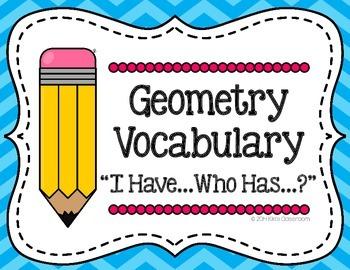 Geometry Game 3rd Grade - 4th Grade Geometry Vocabulary (I