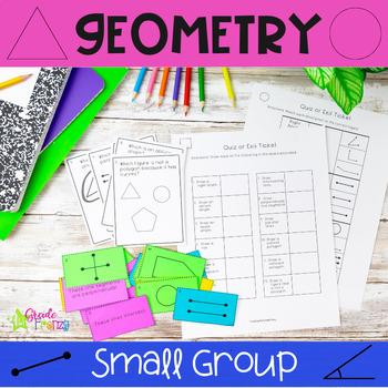 Geometry Vocabulary Sort