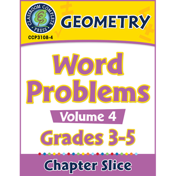 Geometry: Word Problems Vol. 4 Gr. 3-5