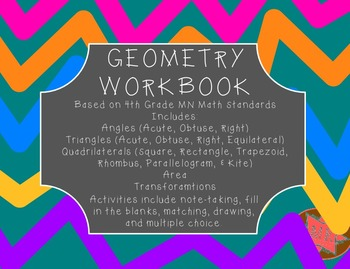 Geometry Workbook