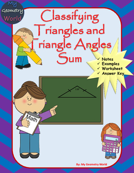Geometry Worksheet: Classifying Triangles