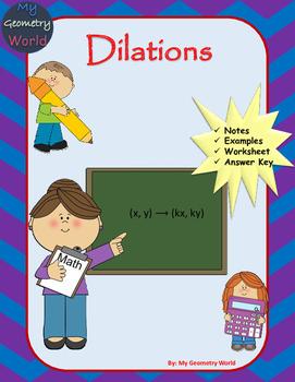 Geometry Worksheet: Dilations