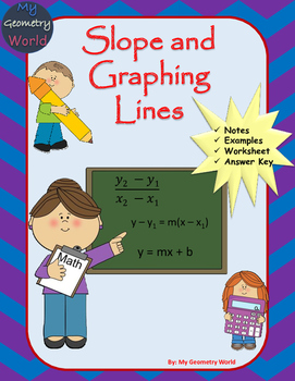Geometry Worksheet: Slope and Graphing Lines