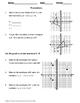 Geometry Worksheet: Translations
