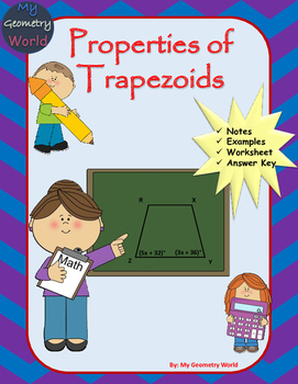 Geometry Worksheet: Trapezoids