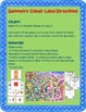 Geometry and Angles Candy Land Board Game For 3rd-5th Grade
