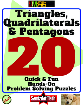 Geometry and Hands On Problem Solving: Triangles, Quadrila
