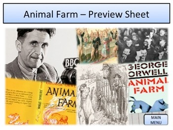 George Orwell Animal Farm / Russian Revolution - Unit