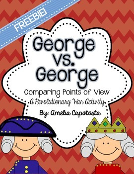 George VS George {FREEBIE!}