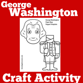 George Washington Activity | Presidents Day Activity