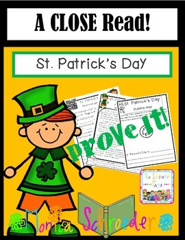 St. Patrick's Day:  A Close Read
