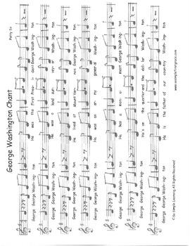 George Washington & Abe Lincoln Songs