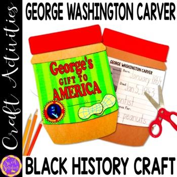 George Washington Carver Peanut Butter Jar(Black History;