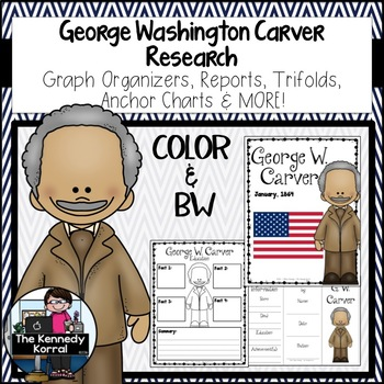 George Washington Carver Biography Research Bundle {Report