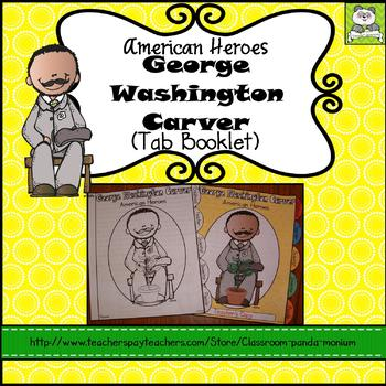 George Washington Carver Tab Booklet