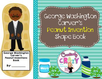 George Washington Carver's Peanut Inventions Shape Book
